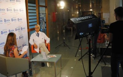 Especialistas de Quirón Torrevieja hablan de espalda en Información Televisión