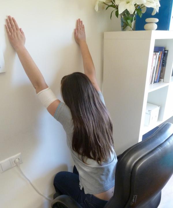 Ejercicio y dolor de espalda en la oficina
